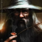 "Fabio Leone: ""Gandalf the Grey"""