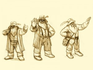 Tom Bombadil sketches