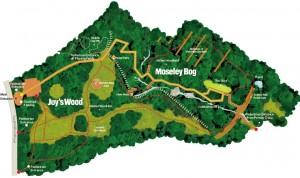 Mappa di Moseley Bog