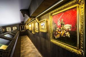 Sala del Greisinger museum (foto di Alessio Vissani)