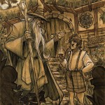 the_hobbit___gandalf_and_bilbo_by_by_denismedri03