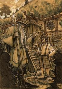 the_hobbit___gandalf_and_bilbo_by_by_denismedri03