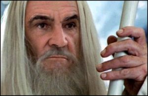 Sean Connery è Gandalf