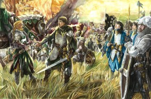 "Abe Papakhian: ""Eomer and Aragorn"""