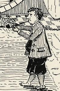 Tolkien illustrations: Bilbo Baggins