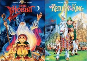 Copertine: Lo Hobbit (1977) Il Ritorno del Re (1980)