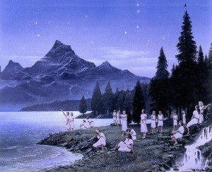 """Ted Namsmith: """"The awaking of the elves"""""""