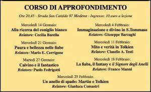 Corso sulla Fiaba a Modena
