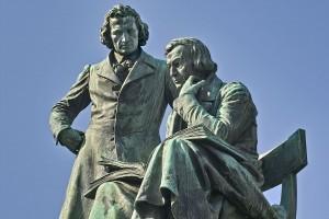 Fratelli Grimm: statua ad Hanau