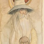 Helmut Dohle: Gandalf and Frodo Colour Study