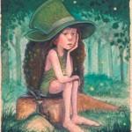 Helmut Dohle: Ragazzina Hobbit