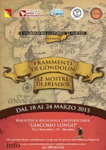 """Mostre: """"Frammenti di Gondolin"""" a Messina"""