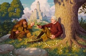 Fratelli Hildebrandt: Gimli e Tolkien