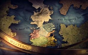 Mappa di Westeros