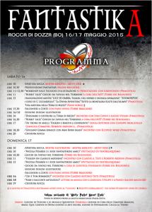 Programma di FantastikA 2015