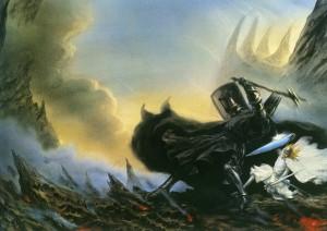 "John Howe: ""Fingolfin's Challenge"""