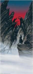 "John Howe: ""Melkor Calls Forth Ungoliantë"""