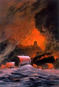 "Ted Nasmith: ""Akallabeth - the downfall of Numenor"""