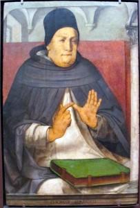 """Giusto di Gand, Pedro Berruguete: """"Tommaso D'Aquino"""""""