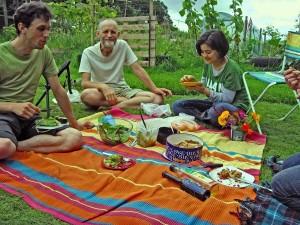 Elven vegan picnic