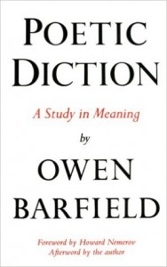 Poetic Diction di Owen Barfield