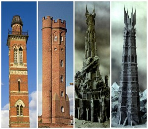 Lord of the Ring towers