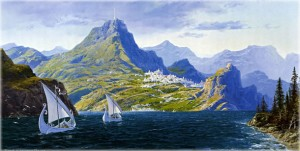 "Ted Nasmith: ""Numenor"""