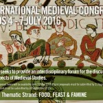 International medieval congress Leeds 2016