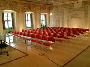 Sala Affreschi Biblioteca Comunale Trento