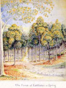 J.R.R._Tolkien_-_The_Forest_of_Lothlorien_in_Spring