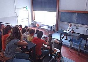 Lezione all'università