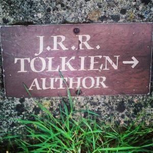 Tolkien grave