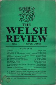 welsh review dec 1945