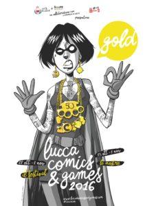 Locandina Lucca Comics 2016