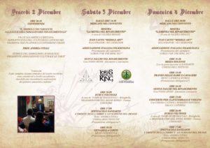 Brochure viaggio nel Rinascimento