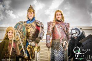 Eomer, Theoden, Eowyn cosplay