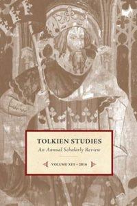Tolkien Studies 13 - 2016