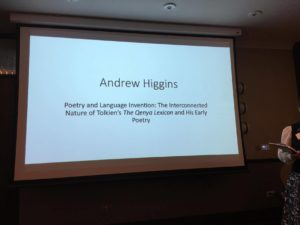 Andrew Higgins - Poetry and Language invention