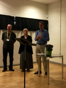 International Medieval Congress: Brad Eden, Kristen Larsen e Andrew Higgins
