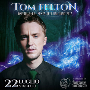 Tom Felton - Festa dell'Unicorno