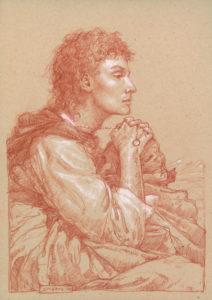 Frodo in Ithilien - Donato Giancola