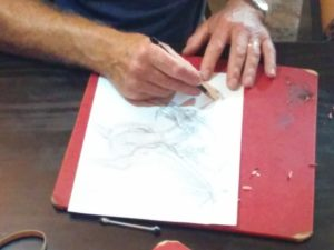 Roger Garland disegno
