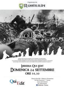 Tolkien e la Prima Guerra Mondiale 24-09-2017