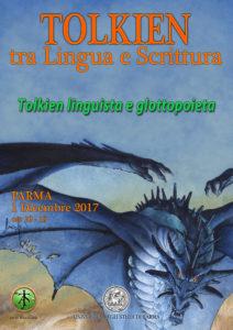 Locandina convegno di Parma - Tolkien linguista e glottopoieta