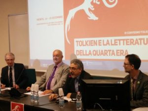 Allan Turner, Tom Shippey, Roberto Arduini and Thomas Honegger - Trento 2017