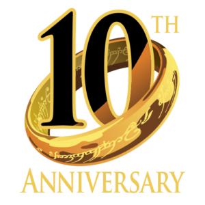 LotRO 10 anni - logo