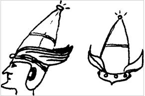 Rhona Beare: disegno Elmi degli Elfi