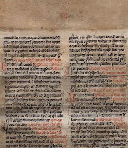 Fragment: lombard verso 12, verso 25