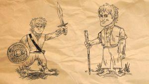 Hobbits War - Rodan