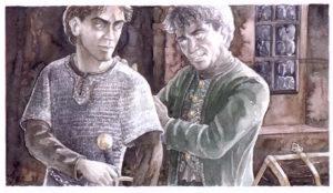 Frodo e Bilbo - Anke Eissmann